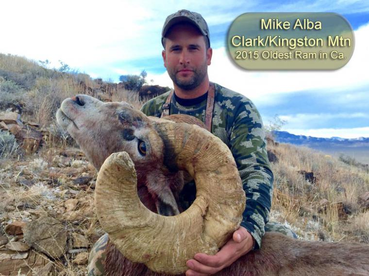 Hall of Fame: 2015 Mike Alba Oldest Ram in Ca