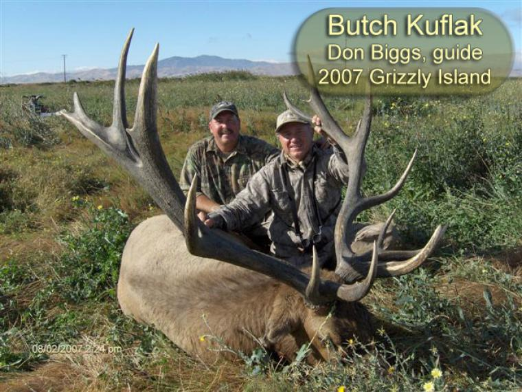 Hall of Fame: 2007 Butch Kuflak Grizzly Island