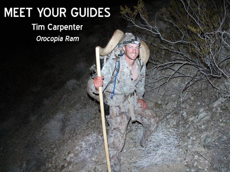 Meet Your Guides: Tim Carpenter